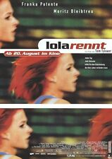 RUN LOLA RUN MOVIE POSTER ~ GERMAN GREEN 23x33 Franka Potente