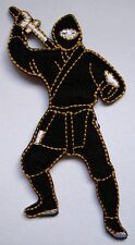 NINJA JAPAN JAPANESE EMBROIDERED Iron on Patch Free Shipping