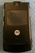 MOTOROLA RAZR V3 - BLACK (T-MOBILE) CELLULAR PHONE.