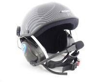 Icaro Skyrider Standard Com Helmet for Powered Paragliding and Paramotor, Carbon