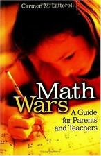 Math Wars: A Guide for Parents and Teachers-ExLibrary