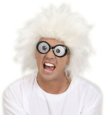 LUNATIC WIG MAD SCIENTIST PROFESSOR ADULT NOVELTY CRAZY
