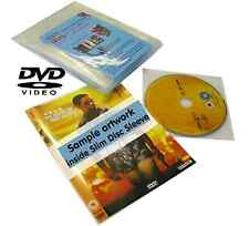 Slimdisc DVD Media Space Saving Cover Sleeve Storage System 25 Pack