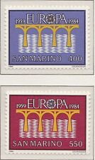 Europa 25 jaar CEPT 1984 San Marino 1294-1295 - Postfris MNH