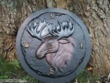 "abs plastic moose directional (N S E W) stepping stone mold 10"" x over 1"" thick"