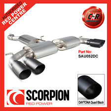 Audi S3 2.0T 8V Saloon 13 on Scorpion Cat-Back Resonated 4x90mm Daytona SAU052DC
