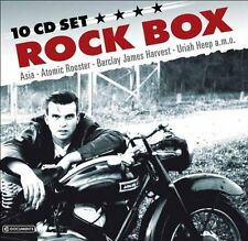 Rock Box (SEALED 10xCD) Asia Sham 69 Uriah Heep Ultravox Wishbone Ash Ian Gillan