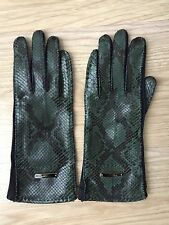 New Burberry Snakeskin Gloves