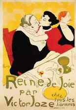 Metal Sign Toulouse Lautrec Henri De Queen Of Joy A4 12x8 Aluminium
