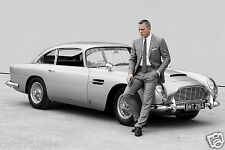 SPECTRE JAMES BOND DANIEL CRAIG ASTON MARTIN 007 PHOTO