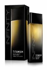 New! Titanium Infinity Men Cologne EDT Perfume 100ml spray 3.5 OZ
