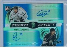 ALEXANDRE CARRIER PASCAL LABERGE 2014/15 LEAF METAL TEAM EFFORT DUAL AUTO #10/10