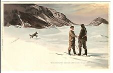 4) Norway 1893/7 original Nansen Artic Polar Expedition postcard unused