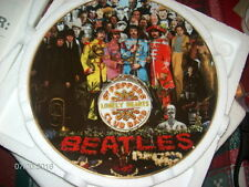 THE BEATLES SGT PEPPER MINT 25 ANNIV. BRADFORD EXCHANGE COLLECTOR PLATE Mint
