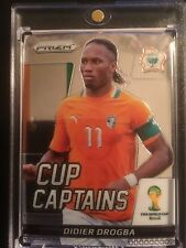 IVORY COAST 2014 DROGBA-CUP CAPTAINS SILVER Prizm Panini Soccer #7