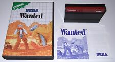 Sega Master System - WANTED - complete