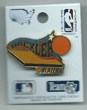 NBA Portland Trailblazers Clyde Drexler Pin Blazers Imprinted Products 1991