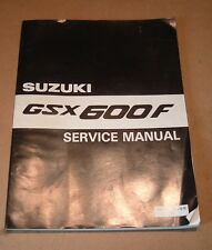 NOS NEW GENUINE SUZUKI WORKSHOP MANUAL GSX600F GSX 600 F 99500 35020 01E