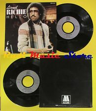 LP 45 7''LIONEL RICHIE Hello You mean more to me 1982 france MOTOWN no cd mc dvd