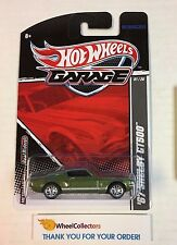 '67 Shelby GT500 * GREEN * Garage Hot Wheels w/ Real Riders * M7