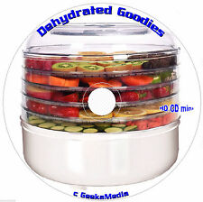Food Dehydrator Cookbook 19 Books CD Bible Recipes Excalibur Ronco nesco Jerky