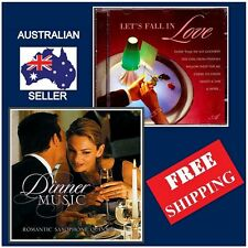 Set of 2 - LET'S FALL IN LOVE & DINNER MUSIC CD, Instrumental Tunes,NEW & SEALED