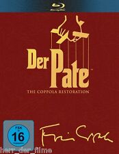 DER PATE 1-3, The Coppola Restoration (4 Blu-ray Discs) NEU+OVP