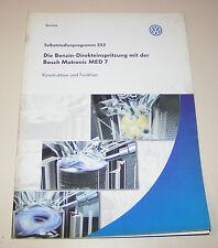 VW Benzin Direkteinspritzung mit Bosch Motronic MED 7 - SSP 253 -  Stand 2002!