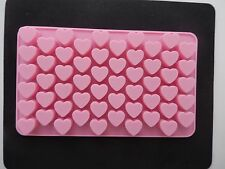 55 Holes Silicone Heart Shape Mould For Cake Decoration/Chocolate Valentines