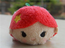 "Disney Store Authentic The Little Mermaid:Ariel Tsum Tsum 4"" Mini Plush Doll Toy"