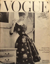 Vintage 50's VOGUE COUTURIER 100 RONALD PATERSON sewing pattern-Evening/Cocktail