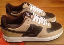 2005 Nike Air Force 1 Mr Cartoon Brown Pride (Size 10) Leather Linen Premium Low