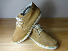 Mens shoes size 8 casual Lacoste Clavel AP lace up leather hi top mens size UK 8