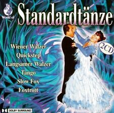 World of Standardtänze WIENER WALZER QUICKSTEP SLOW FOX FOXTROTT LANGSAMER 2CD