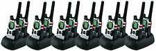 12 Motorola MJ270 MJ430 FRS GMRS 2-WAY Radio Walkie Talkie Ni-MH Weather VOX QT
