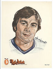 HTF 1976-77 Marc Tardiff Quebec Nordiques WHA Marie Antoinette Hotels Picture