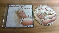 CD Schlager Lena-Marie Engel - Ich schaff es auch so (1 Song) Promo JBM MUSIC sc