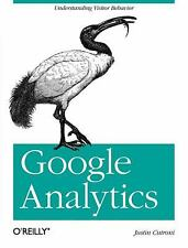 Google Analytics by Justin Cutroni (2010, Paperback)