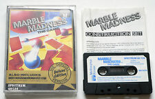 Marble Madness The Game & Construction Set For Sinclair ZX Spectrum 48k/128k