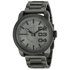 Diesel DZ1558 Double Down 46 XL Gunmetal Watch Brand New in Box Authentic