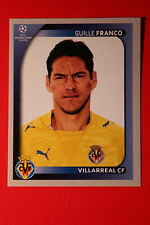 PANINI CHAMPIONS LEAGUE 2008/09 # 532 VILLAREAL CF FRANCO BLACK BACK MINT!