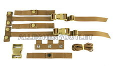 USMC MTV Modular Plate Carrier Vest STRAP REPAIR KIT w/ CUMBERBUND STAYS NIB