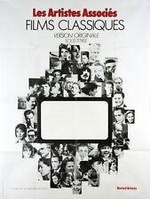 Affiche 120x160cm LES ARTISTES ASSOCIES, FILMS CLASSIQUES - FELLINI, PASOLINI