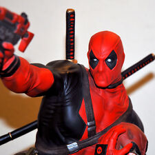 Art Department DEADPOOL Heisman 1/4 Custom Statue Marvel, nt Sideshow XM Studios