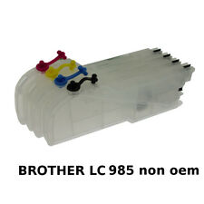 Brother LC985XL x4 Cartouches Rechargeables non-oem★★★