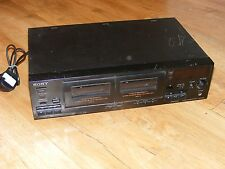 Sony TC-WR465 HiFi Stereo Cassette Deck, Double Cassette Recorder Player