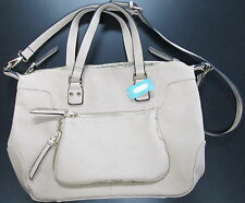NWT URBAN EXPRESSIONS TOTE CROSSBODY HANGBAG TAN PURSE FROM MAURICES