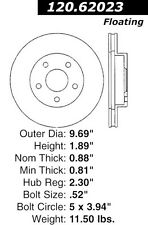 Centric Parts 127.62023L Front Performance Brake Rotor
