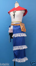 Final Fantasy X FFX -2 Yuna Cosplay Costume Custom Made