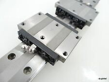 HRW21CA+288mm Used THK Linear Bearing NSK,IKO LM Guide 1Rail2Block Wide Low Type